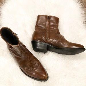 Tony Lama Women's Leather Cowboy Rodeo Boots